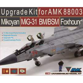AMK - 1:48 Mikoyan MiG-31BM/BSM Foxhound Upgrade Kit