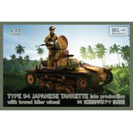 IBG Model TYPE 94 Japanese Tankette - late production with towed idler whee