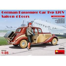 Miniart - 1:35 German Passenger Car Typ 170V. Saloon 4 Doors
