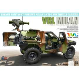 Tiger Models 1:35 French VBL with Milan Anti-Tank Missile Launcher