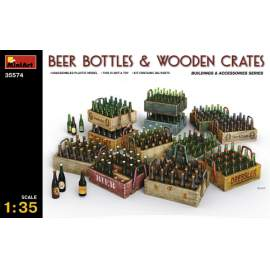 Miniart - 1:35 Beer Bottles & Wooden Crates