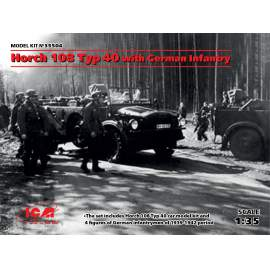 ICM 1:35 Horch 108 Typ 40 with German Infantry