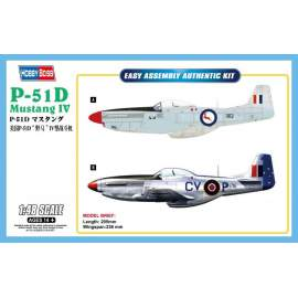 Hobbyboss 1:48 P-51D Mustang IV Fighter