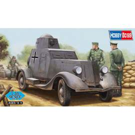 Hobbyboss 1:35 Soviet BA-20M Armored Car