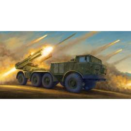 Trumpeter 1:35 Russian 9P140 TEL of 9K57 Uragan Multipl Launch Rocket Syste