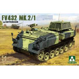 Takom 1:35 British APC FV432 Mk.2/1 with interior