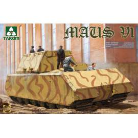 Takom 1:35 WWII German Super Heavy Tank Maus V1