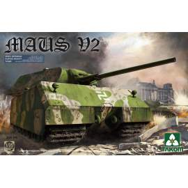 Takom 1:35  WWII German Super Heavy Tank Maus V2