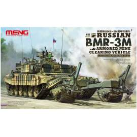 Meng Model 1:35 Russian BMR-3M Armored Mine Clearing Vehicle