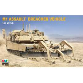 Ryefield model 1:35 M1 Assault breacher vehicle