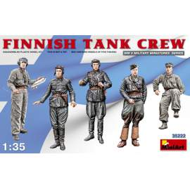 Miniart 1:35 Finnish Tank Crew