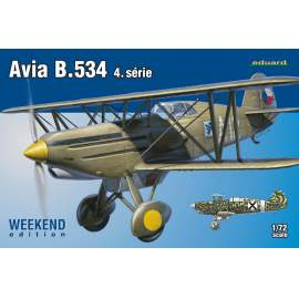 Eduard Weekend 1:72 - Avia B.534 IV. serie