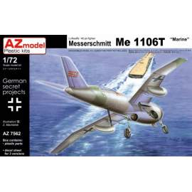 "AZ Model 1:72 Messerschmitt Me-1106T ""Marine"""