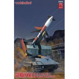 Modelcollect 1:72 Germany Rheintochter 1 movable Missile launchner with E50