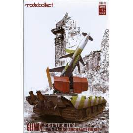 Modelcollect 1:72 Germany Rheitochter 1 movable Missile launcher with E100