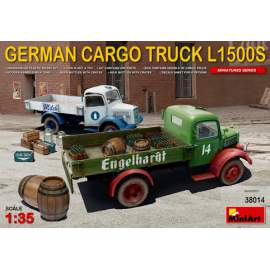 Miniart - 1:35 German Cargo Truck L1500S Type