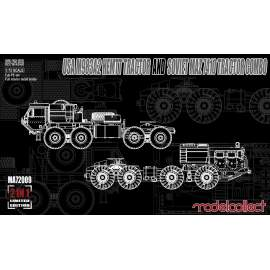Modelcollect 1:72 USA M983A2 HEMTT Tractor and Soviet MAZ 7410 tractor