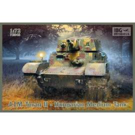 IBG Model 1:72 41M Turan II - Hungarian Medium Tank