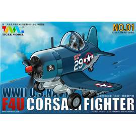 Tiger Model - Cute Plane WWII US F4U Fighter