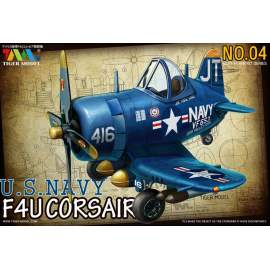 Tiger Model - Cute Plane WWII US F4U 4 Fighter