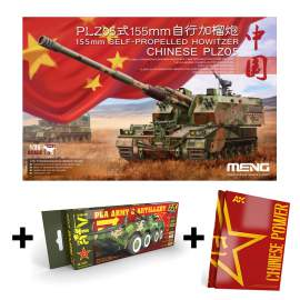 Meng Model - Chinese PLZ05 155mm Self Propelled Howitzer+PLA colors+PLA kön