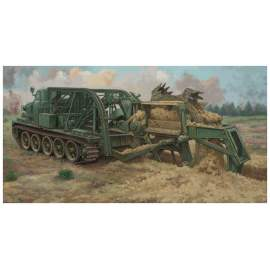 Trumpeter 1:35 BTM-3 High-Speed Trench Digging Vehicle