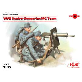 ICM 1:35 WWI Austro-Hungarian MG Team (2 figures)