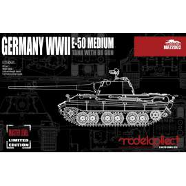 Modelcollect 1:72 Germany WWII E-50 Medium Tank with 88Gun
