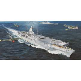 Trumpeter 1:350 German Navy Aircraft Carrier DKM Peter Strasser