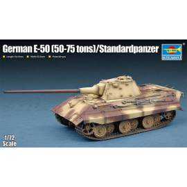 Trumpeter 1:72 German E-50(50-75 tons)/Standardpanzer
