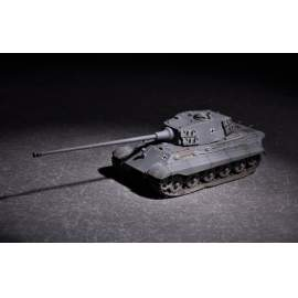 Trumpeter 1:72 German King Tiger(Henschel turret) with 105mm kWh L/65
