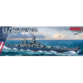 Meng Model 1:700 U.S. Navy Battleship U.S.S. Missouri (BB-63)