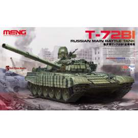Meng Model 1:35 Russian Main Battle Tank T-72B1