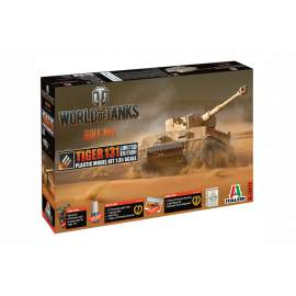 Italeri 1:35 World Of Tanks - TIGER 131 EU WoT (Limited Edition)