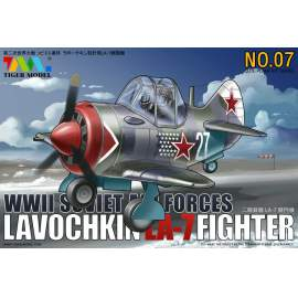 Tiger Model - Cute Plane Soviet Air Forces - Lavochkin La-7
