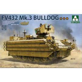 Takom 1:35 British APC FV432 Mk.3 Bulldog (2 in 1)