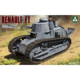 Takom 1:16 French Light Tank Renault FT-17 (3 in 1)