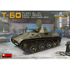 Miniart 1:35 - T-60 (Plant No.37) Early Series Interior Kit