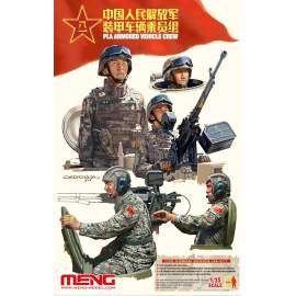 Meng Model 1:35 PLA Armored Vehicle Crew