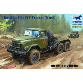 Bronco Model 1:35 Russian Zil-131V Tractor Truck