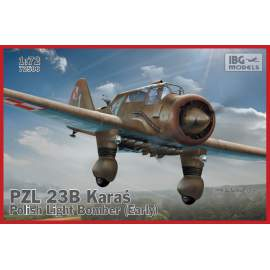 IBG Model 1:72 PZL.23B Karaś - Polish Light Bomber (Early production)