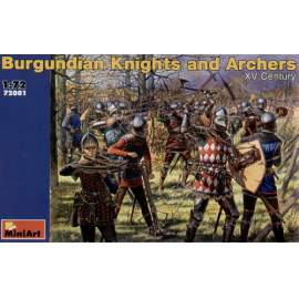 Miniart 1:72 Burgundian Knights and Archers