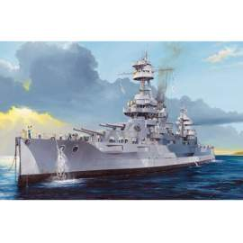 Trumpeter 1:700 USS New York BB-34 hajó makett