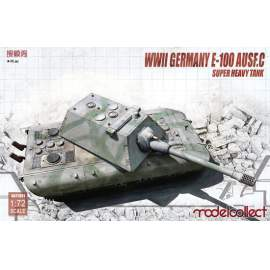 Modelcollect 1:72 Germany WWII E-100 Heavy Tank with Krupp