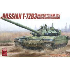Modelcollect 1:72 Russian T-72B3 Main Battle Tank 2017 Moscow