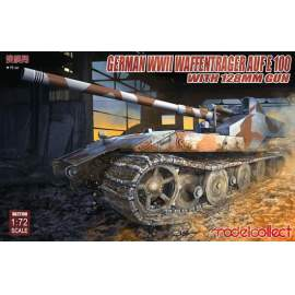 Modelcollect 1:72 German WWII E-100 panzer weapon carrier with 128mm gun