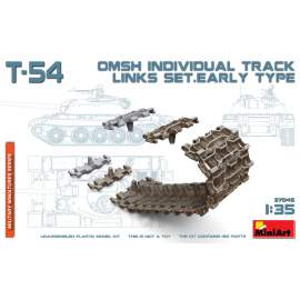 Miniart 1:35 T-54 OMSh Individual Track Links Set. Early Type