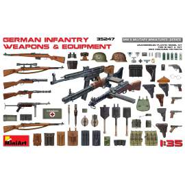 Miniart 1:35 German Infantry Weapons & Equipment