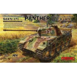 Meng Model 1:35 German Medium Tank Sd.Kfz.171 Panther Ausf.A Late