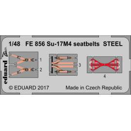 Eduard 1:48 Su-17M4 Fitter Seatbelts Steel (Zoom)
